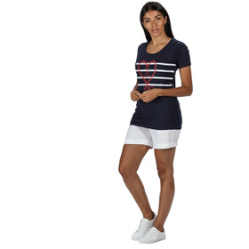 Regatta Filandra IV T-Shirt Women navy sail